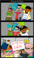 Protesting Too Much by EggHeadCheesyBird