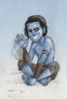 Kid Jotun Loki by CaptBexx