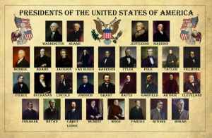The Presidents of the USA by edthomasten