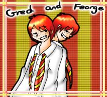 HP: Gred and Feorge by chikisingergrl