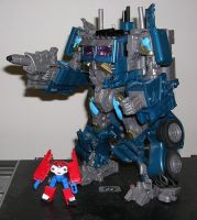Transformers Megas XLR Prime 2 by The-Waspinator