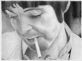 Paul smoking by Macca4ever