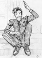 The 10th Doctor by K-Fujiwara