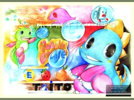 Bubble Bobble by NetherworldQueen