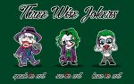 Three Wise Jokers by Miguelhan