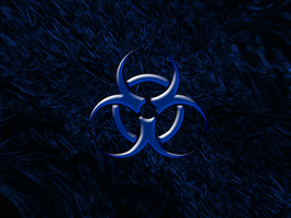 BioHazard Blue by GrimreapeR1990