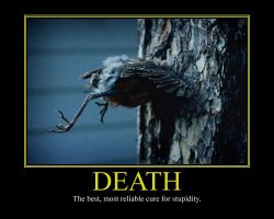 Death II Motivational Poster by DaVinci41
