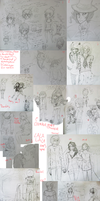 SKETCHDUMP up to June 2011 by Juunshi