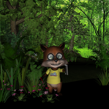 Mr. Fox is lost but happy by Hurvi