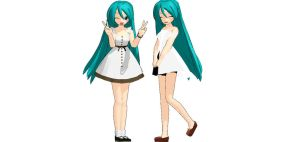 [MMD] Miku Dress V2 and V1 DOWNLOAD!! by Profecionalprinces