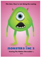 Monsters Inc 2 Concept Poster by teenagephoenix