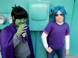 Gorillaz Phase two shoot 1 by Psycho7772