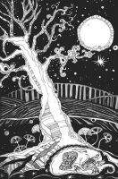 The Moon Tree by yanadhyana