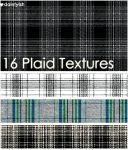 Plaid Texture set 1 by daintyish