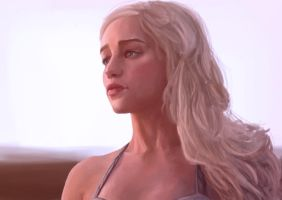 Khaleesi, Mother of Dragons by Beere-Jade