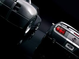 Cobra Concept vs. Mustang GT 3 by FordGT