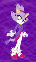 Blaze the Cat by JiraachiStar