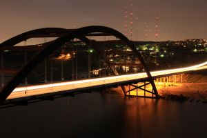 Pennybacker Bridge Austin, Texas by atomicowboy