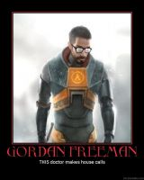 Gordon Freeman PHDemotivator by AniManga21