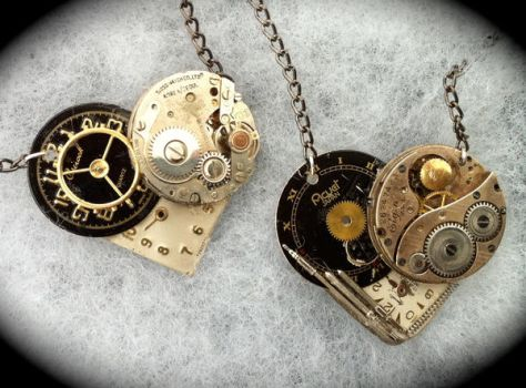 Steampunk Heart 8 and 9 by Lucky978