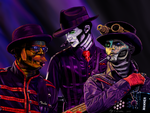 Steam Powered Giraffe by BekaValentine