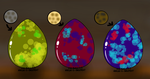 zencor eggs (open) by candycorn12345