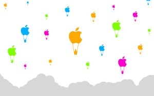 Apple Balloons by Dgym