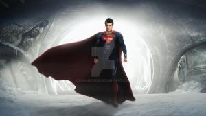 A Hero Will Rise (Man of Steel). by LoganChico