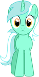 Lyra Heartstrings Looking At You by TomFraggle