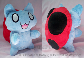 Catbug Plush by QueenBeePlush