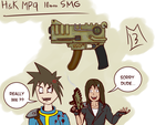 HK MP9 10mm SMG by hunk17