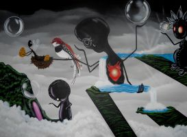 as the mother lost her child by Alizadeh-Art