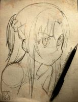 Asuna - Sketch by Iza-nagi