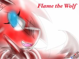 Flame the wolf by SonicVsShadow109