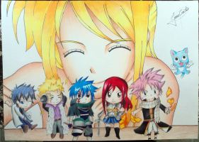 (Fanart) Fairy Tail by JeanCarlo183
