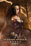 Wonder Woman poster by MessyPandas