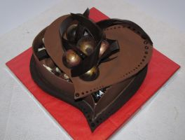 chocolate heart box by mysweetstop