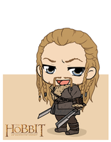 The Hobbit - Fili by Mibu-no-ookami