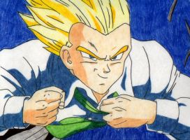 Flying Gohan by Stephr0x0rs