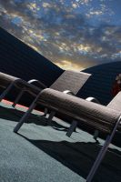 Roof-top lounge by gorkath