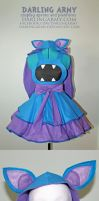 Zubat - Pokemon- Gijinka Cosplay Pinafore Comm. by DarlingArmy