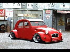 STYLE GERMAN 2 CV by ROOF01