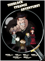 Sherlock : Family Guy by LaLunatique