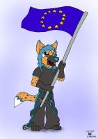 I am Proud to Call Myself a Eurofur by Wedgie-Fox
