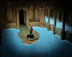 Water Palace by Kirtan-3d