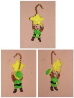 Link (Xmas Ornament) by fuzzyfigureguy