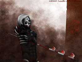 hidan. theres dirt on ur nose. by cresent-lunette