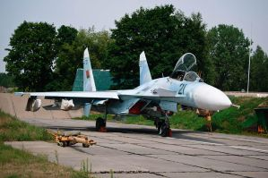 SU 27 Flanker armed by BY-SERG