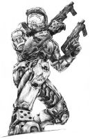 Master Chief by thecandylandsniper