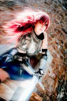 Erza Scarlet by soliciana